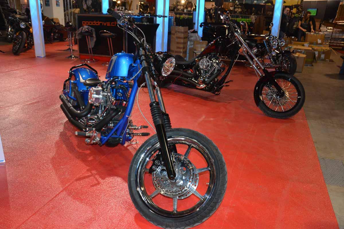 Swiss Moto 2015, Custombikes